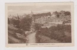 LUXEMBOURG  //   Ville Haute Et Rocher Du Bock - Luxemburg - Town