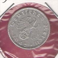DUITSLAND THIRD REICH 50 REICHSPFENNIG 1942A - 50 Reichspfennig