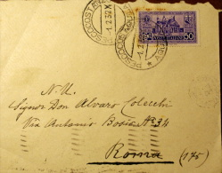 ITALY 1932 - ANTONIANO  0,50 USED - 1900-44 Vittorio Emanuele III