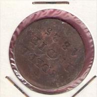 NED. INDIE 1/2 STUIVER 1825 - Indes Néerlandaises