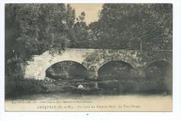 CPA - Arnaville - Un Coin Du Rupt-de-Mad - Le Pont Rouge - France