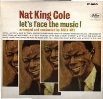 * LP *  NAT KING COLE - LET'S FACE THE MUSIC! (England 1964 EX-!!!) - Jazz