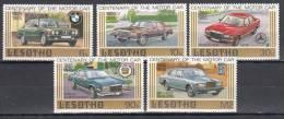 LESOTHO 1985  WAGEN VOITURES AUTOMOBILES AUTOMOBILI CARS MNH NEUFS ** CAR2 - Autos