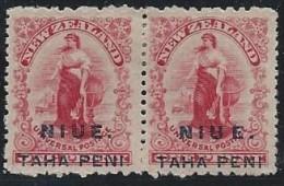 Colonie Anglaise, Niue N° 2 * Dentelé 11*14, U E Espacé - Grande-Bretagne (ex-colonies & Protectorats)