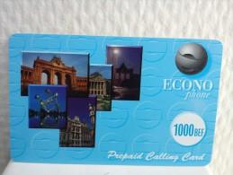 Econo Phone 1000 Bef 2 Photo's Used - Belgique