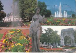 Aix-les-Bains  (73) L´Etablissement Thermal, Les Jardins, L´Arc De Campanus, La Porteuse D´eau - Aix Les Bains