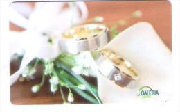 Germany - Carte Cadeau - Gift Card - Geschenkkarte - Galeria Kaufhof - Wedding - Ring - Gift Cards
