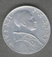 VATICANO 5 LIRE 1953 PIUS XII - Vaticano