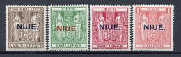 Colonie Anglaise, Niue N° 38 à 41* - Grande-Bretagne (ex-colonies & Protectorats)