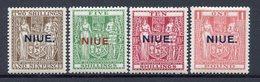 Niue - N° 38 à 41 * - Neuf Avec Charnière - RARE - Niue