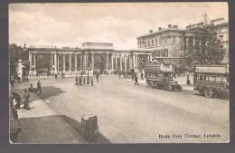 LONDON . Hyde Park Corner . Correspondance Military . - London