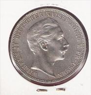 DUITSLAND PRUISSEN 3 MARK 1912A SILVER - [ 2] 1871-1918 : Empire Allemand