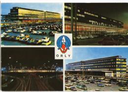 CPM    ORLY        AEROPORT DE PARIS        MULTIVUES - Aerodrome