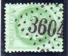 "FRANCE : N° 53  . GC 3604 . "" STE FOY DE TARENTAISE   "" . (88) . TB . SIGNE . - Marcophily (detached Stamps)"