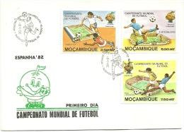 PAQUETE - 1� DIA DE CIRCULA��O - ESPANHA'82