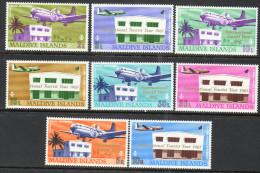 Maldive Islands 1967 - International Tourist Year Opts SG240-247 MNH Cat £13.55 SG2015 - Maldivas (1965-...)