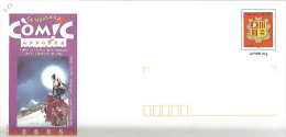 ANDORRE. Comic Andorra 2005.   Un Entier Postal Neuf.  Tirage 3000 - Comics