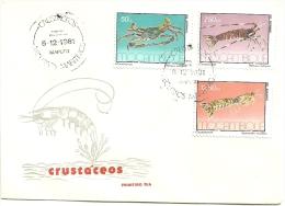 PAQUETE - 1� DIA DE CIRCULA��O - CRUST�CEOS