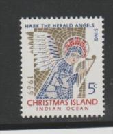 CH-IsMi.Nr.32/ Engel (angel) 1969 ** - Christmas Island
