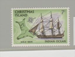 CH-IsMi.Nr.46/ AS ISLAND -  CHRISTM Ship Islander 1972  ** - Christmas Island