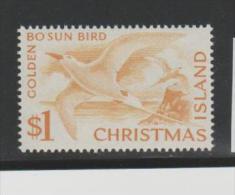 CH-IsMi.Nr20/ - CHRISTMAS ISLAND Swan Bird 1963  ** - Christmas Island