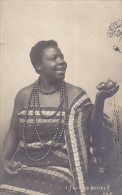 Africa Woman In Native Costume 1903 - Postcards