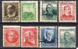 Serie Completa Personajes Republica, Num 681 - 688 º - 1931-Aujourd'hui: II. République - ....Juan Carlos I