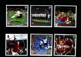 ISLE OF MAN - 2006  FOOTBALL WORLD CHAMPIONSHIP  SET MINT NH - Isola Di Man