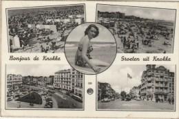 19252 - GROETEN UIT KNOKKE POSTCARD