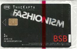 Greece - BSB Fashionism No.1 (X1536) 11.2002 - 35.000ex, NSB - Greece