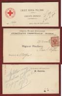 CROCE ROSSA ITALIANA - 1903 LETTERA AI SINDACI PER RICHIESTA DANARO.... - Documents Historiques