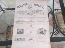 PARIS PORNOGRAPHE NUMERO UNIQUE DU 30 DECEMBRE 1880 - 1850 - 1899