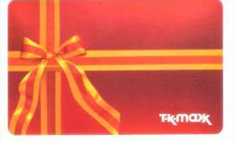 Germany - Allemagne - T-K-Maxx - TK Maxx - Carte Cadeau - Carta Regalo - Gift Card - Geschenkkarte - Tarjetas De Regalo