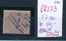 D.-Reich Nr. 37 A  Signiert Zenker   O    (f8273   ) Siehe Scan ! - Deutschland