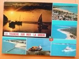 V09-85-88-vendee-la Tranche Sur Mer-la Griere--multivues--bateau-voilier-- - La Tranche Sur Mer