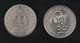 West Africa 100 Francs 1975 Africa Ovest - Monete