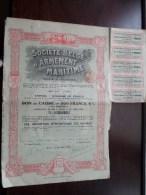 Soc. Belge D'Armement MARITIME S.a. Anvers 16 Juillet 1919 - N° 32146, 32148 & 32149 ( Voir Photo Pour Detail )! - Navigation