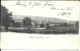 39 - PONT - De - POITTE - Vue Génèrale-Précurseur 1900- SUP - Altri Comuni