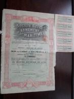 Soc. Belge D´Armement MARITIME S.a. Anvers 16 Juillet 1919 - N° 32157, 32158 & 32159 ( Voir Photo Pour Detail )! - Navigation