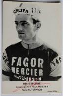 CARTE  Signée De  Regis DELEPINE - Dédicace - Hand Signed - Autographe Authentique  - - Cyclisme