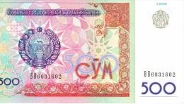 500 Som 1999 NEUF - Usbekistan