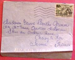 Lettre  De Tananarive Vers La France 1957 PHOTO RECTO VERSO - Briefe U. Dokumente