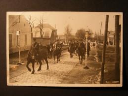Carte Photo Lapierre St Quentin (02) - D�fil� de chevaux ... Procession ...
