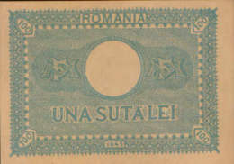 Romania - Banknote 100 Lei  1945 , Uncirculated - 2/scans - Rumania