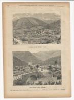 Rivista Del 1890 Splendide Incisioni Di GARDONE VAL TROMPIA E PREGNO Villa Carcina Brescia - Libri, Riviste, Fumetti