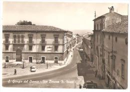 SAN GIORGIO DEL SANNIO ( BENEVENTO ) VIA BARONE N. NISCO - EDIZIONE LEPORE - 1967 - Benevento