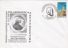 4875- G. PH. TELEMANN, COMPOSER, CLUJ NAPOCA AUTUMN MUSIC FESTIVAL, SPECIAL COVER, 2000, ROMANIA - Música