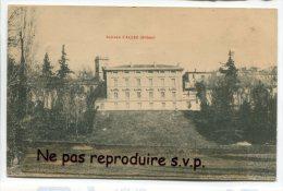 - Château D'ALLEX - ( Drôme ),  écrite En 1908, Timbre, Cliché Peu Courant, TBE, Scans.. - Frankreich