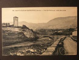 CPA Saint-Jean-de-Maurienne (73) - Pont de Bonrieux - Route des Arves
