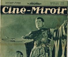 CINE MIROIR Année 1935 N° 523 GABIN Ponce Pilate BRU MATHIS LARQUEY CHEVALIER Justin De Marseille STUDIO Epinay ABEL - Kino/Fernsehen